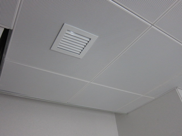 Metal Ceiling in Offices