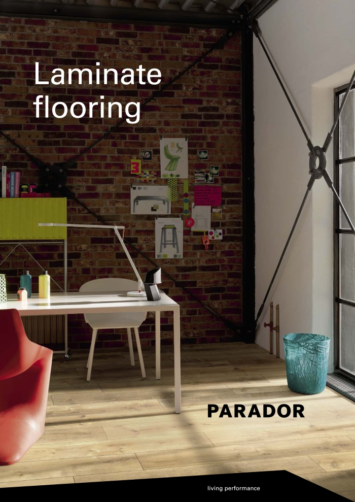 2016 Parador Laminate Flooring Catalog-1